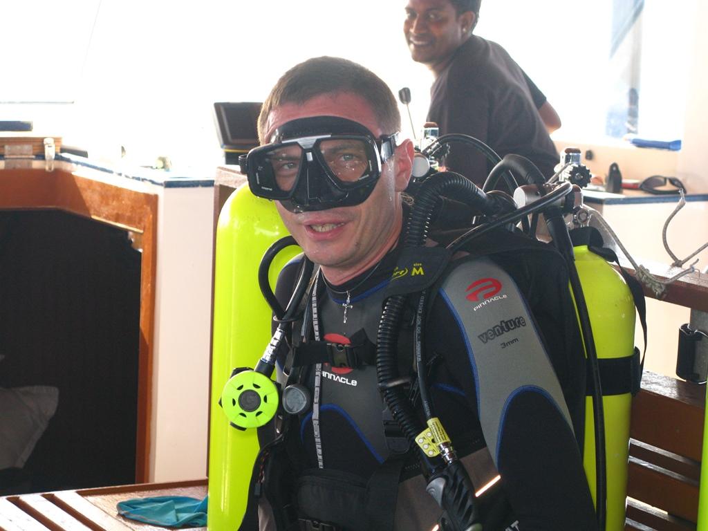Дмитрий Яковлев - создатель проекта Dive & Boats